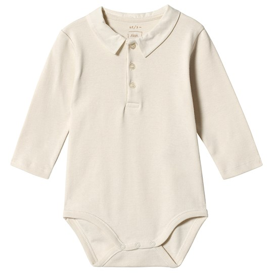 Noa Noa Miniature Baby Body Long Sleeve Turtledove Turtledove