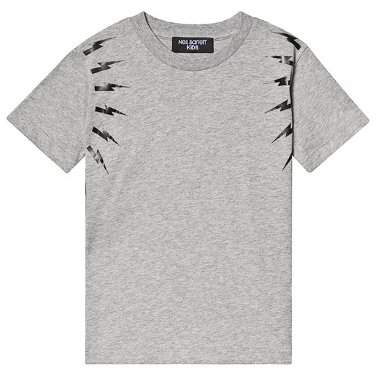 Neil Barrett Thunder Bolt Tee Grey/Black 101