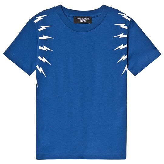 Neil Barrett Thunder Bolt Tee Blue/White 130