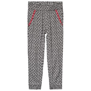 Image of IKKS All Over Print Pants with Pocket Detailing Black/Grey 10 years (3125352487)