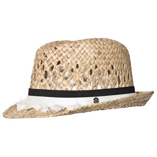 IKKS Beige Trilby with Shell Details 01