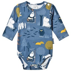 Moomin Forest Adventure Baby Body Blue