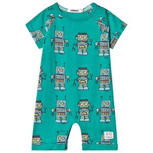 Image of Indikidual Green Robot One-Piece 6-12 months (3125248285)