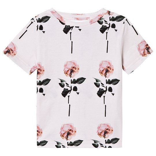 Caroline Bosmans Pollen Rose T-Shirt Pink CO PIQUE POLLEN / ROSE