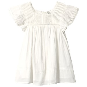 Image of Bonton Embroidered Dress Blanco 10 år (3125338071)