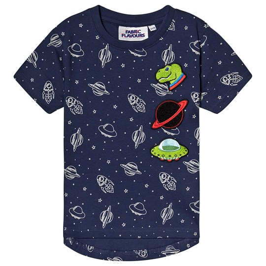 Fabric Flavours Out Of This World Tee Navy Navy