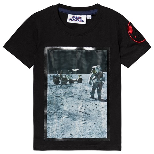 Fabric Flavours NASA Apollo Tee Black Black