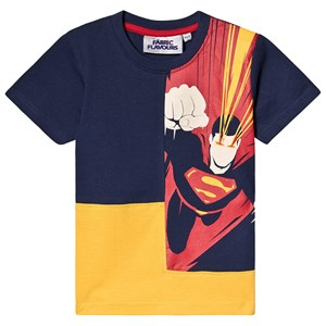 Image of Fabric Flavours Superman Beam T-Shirt 3-4 years (3125249201)