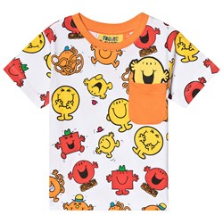 Fabric Flavours Mr. Men Print Tee Red