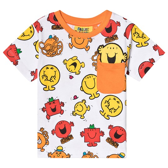 Fabric Flavours Mr. Men Print Tee Red Red