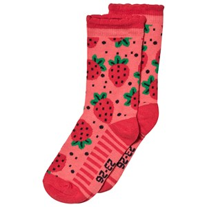 Image of Melton Strawberry Bubble Socks 23-26 (3125301937)