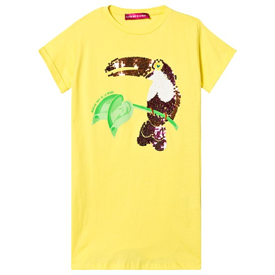 Agatha Ruiz de la Prada Yellow Toucan Dress Yellow