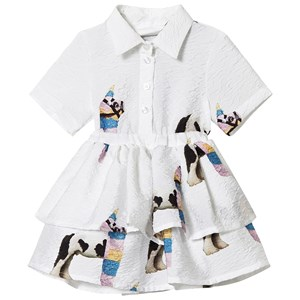 Image of Caroline Bosmans Immunology Llama Dress White 2 år (3125343755)