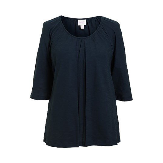 Boob Breeze Blouse Midnight Blue Midnight Blue