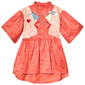 Image of Raspberry Plum Hannah Dress Orange 11-12 years (3125289807)