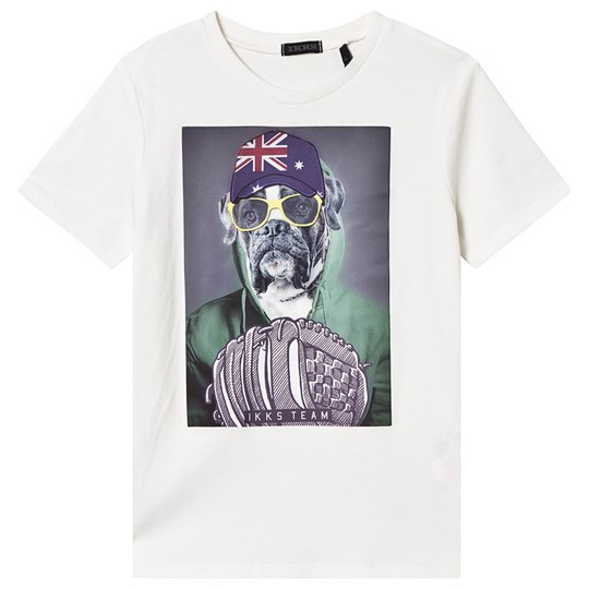 IKKS White Dog Tee 19