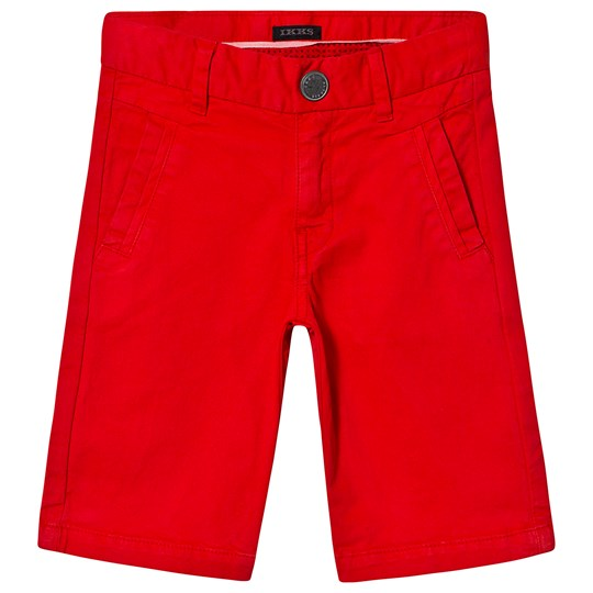 IKKS Red Button Up Chino Shorts 38