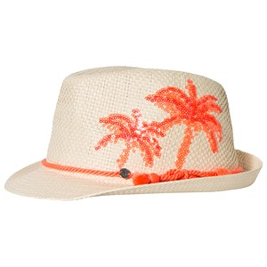 Image of IKKS Pink Trilby with Pom Pom Detail 53cm (8-10 years) (3125360133)