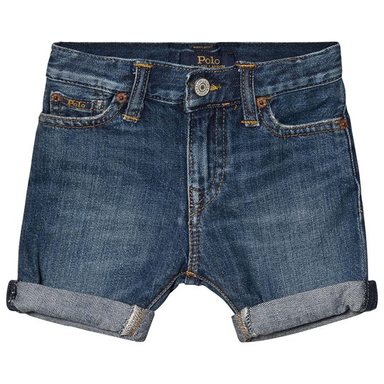 Ralph Lauren Mid Washed Denim Shorts 001