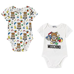 Image of Moschino Kid-Teen 2-Pack Branded Bear Bodies 12-18 months (3125292013)