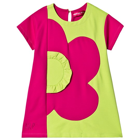 Agatha Ruiz de la Prada Flower Dress Pink/Lime Pink