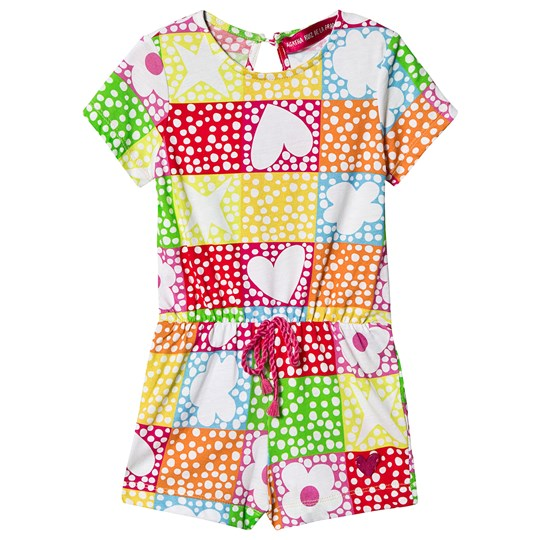 Agatha Ruiz de la Prada Patterned Playsuit Multi Multi