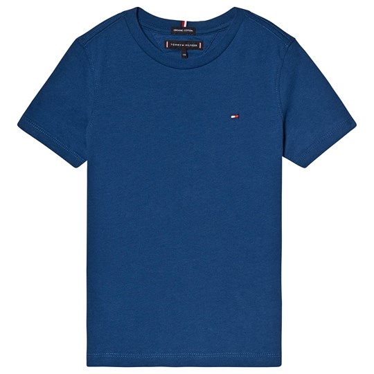 Tommy Hilfiger Blue Branded Tee 484