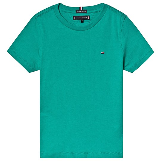 Tommy Hilfiger Green Branded Tee 303