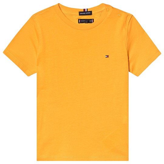 Tommy Hilfiger Yellow Branded Tee 720
