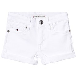 Tommy Hilfiger Nora Denim Shorts White