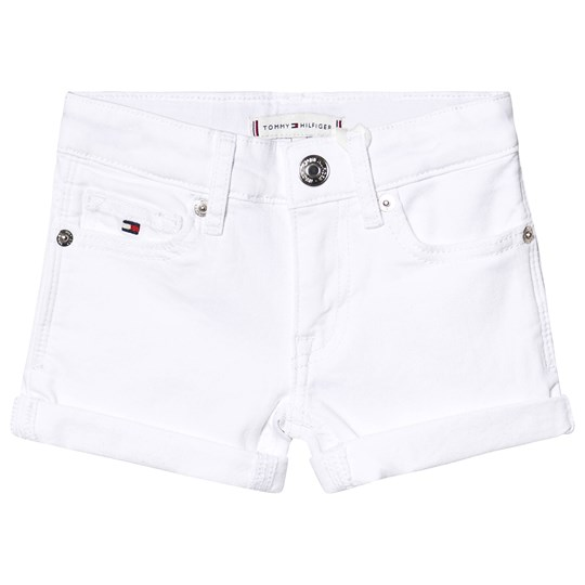 Tommy Hilfiger Nora Denim Shorts White 123