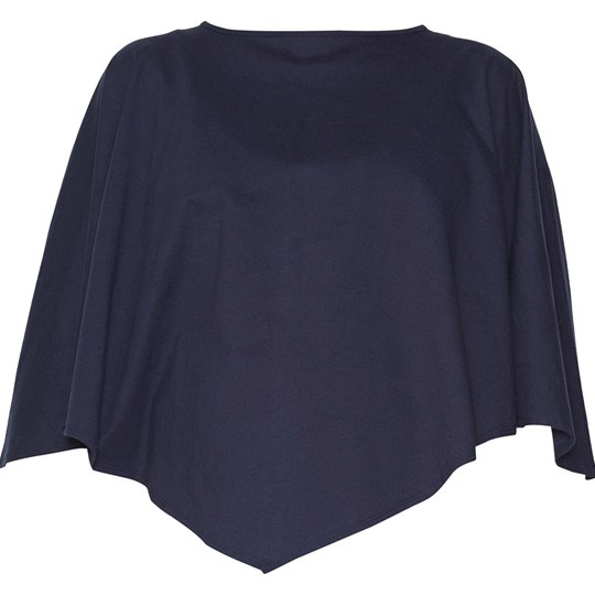 Mom2Mom Dark Blue Breast Feeding Poncho Blue