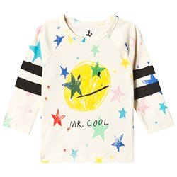 Noe & Zoe Berlin Multi Colored Stars Mr Cool Graphic Infants T-shirt