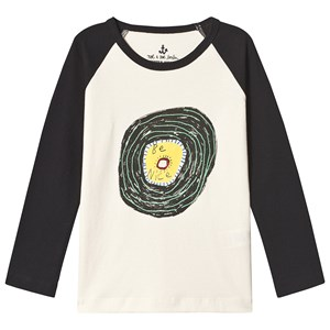 Image of Noe & Zoe Berlin Be Nice Graphic Long Sleeve Raglan Tee 2 years (3125281433)