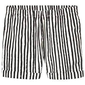 Image of Noe & Zoe Berlin Black Stripes Print Shorts 8 years (3125263451)