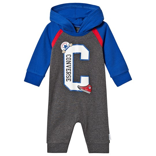 Converse Retro Hooded One-Piece Grey/Blue 114