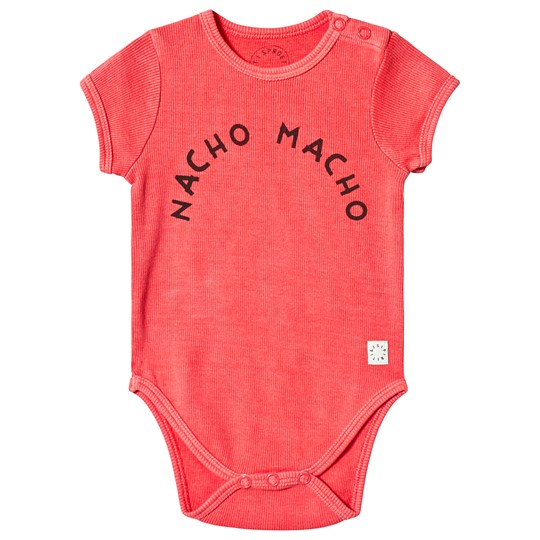 Sproet & Sprout Nacho Macho Baby Body Red 063