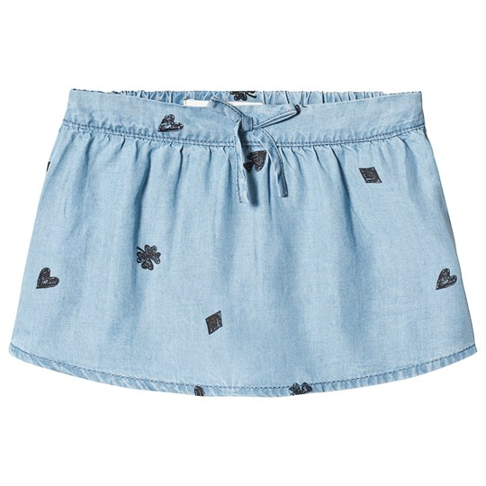 Sproet & Sprout Playing Cards Skirt Light Blue 041