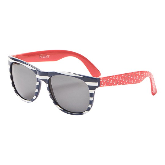 Hatley Nautical Stripes Sunglasses Navy and Red Navy stripes