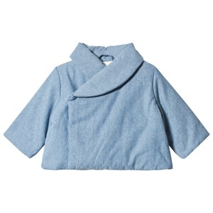 Image of Cyrillus Blue Chambray Padded Coat 12 months (3125362019)