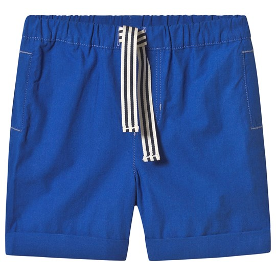 Cyrillus Blue Stripe Shorts Electribblue