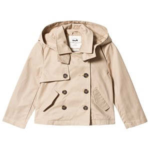 Image of Cyrillus Beige Cotton Trench Coat 10 years (3148274421)