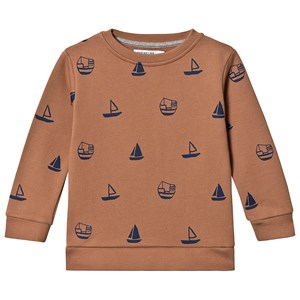 Image of One We Like Boats Basic Sweatshirt Macaroon 110/116 cm (3125322155)