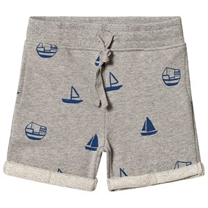 Image of One We Like Boats Shorts Grey Melange 110/116 cm (3125322517)