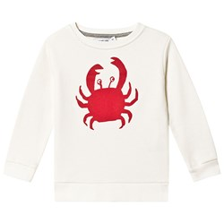 One We Like Crab Basic Sweatshirt Marshmallow