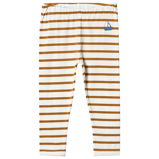 One We Like Stripes Boat Leggings Macaroon macaroon