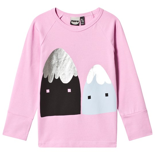 Papu Mountains Fold Sweatshirt Pink Pink