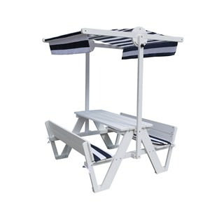 Image of Oliver & Kids Picnic Table with Canopy (3125328033)