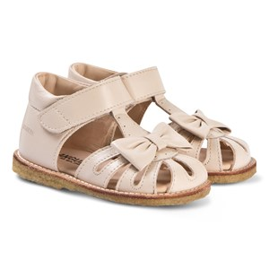 Image of Angulus Bow Sandals Powder 21 (UK 4.5) (3125312539)