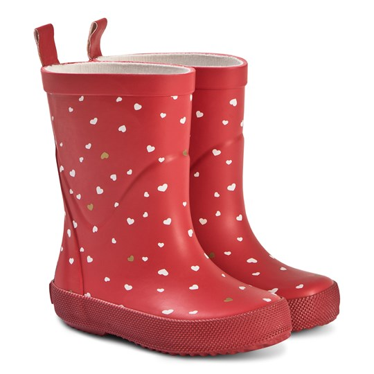 Celavi Red Rain Boots Red
